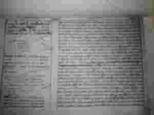 Historischer Grundbuchauszug Spanien Grundbuchhistorie